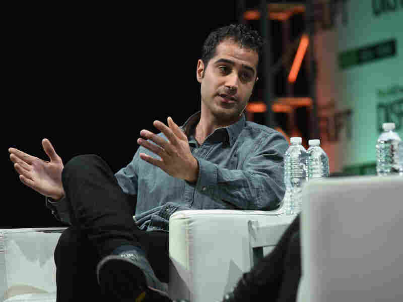 """Kayvon Beykpour, co-founder and CEO of Periscope, speaks during the TechCrunch Disrupt conference May 5 in New York City. He says that with live video apps such as Periscope, """"the world has accepted that these capabilities exist."""""""