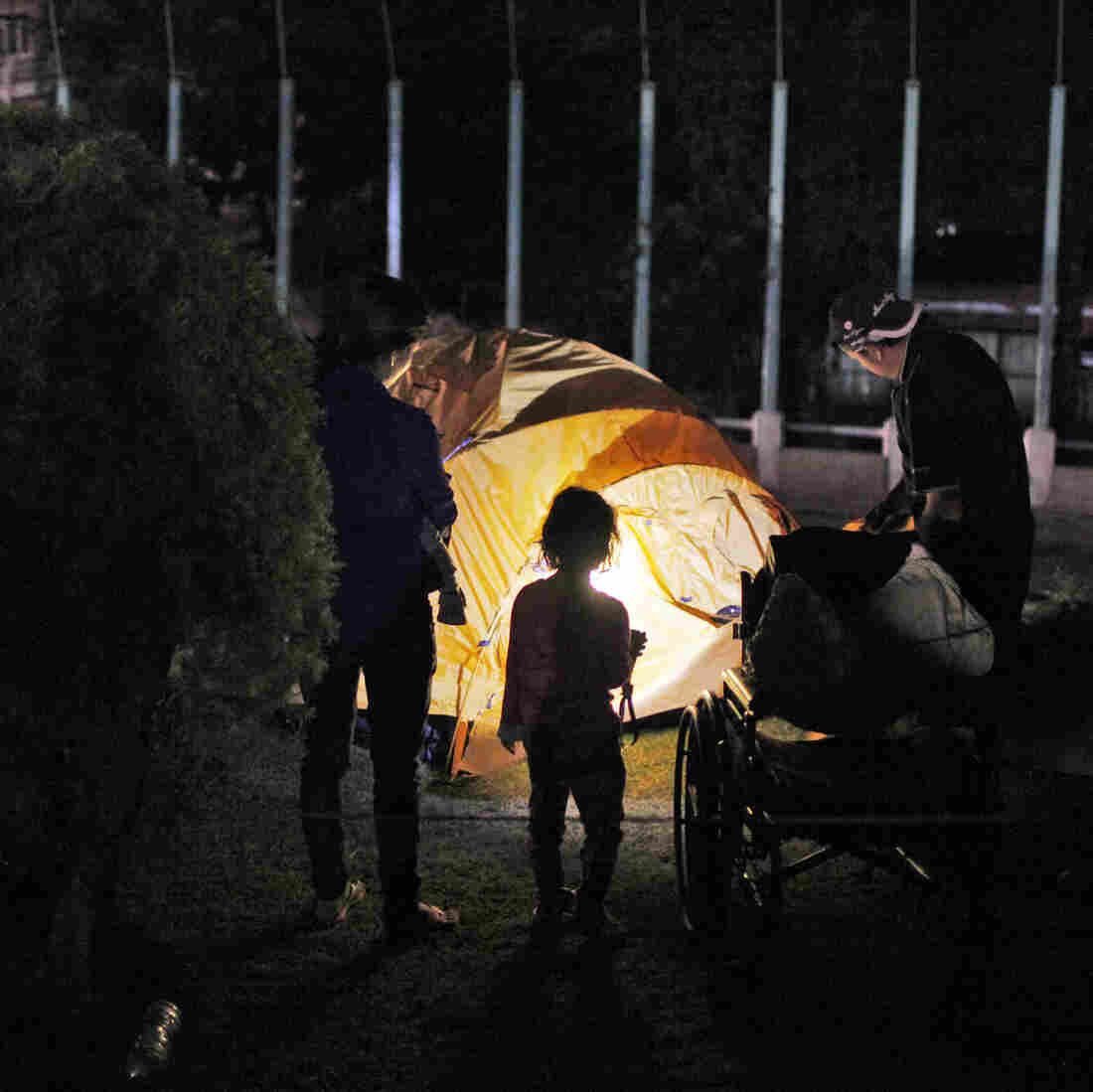 Charities, Locals And Bikers Help Repair Nepal After New Quake