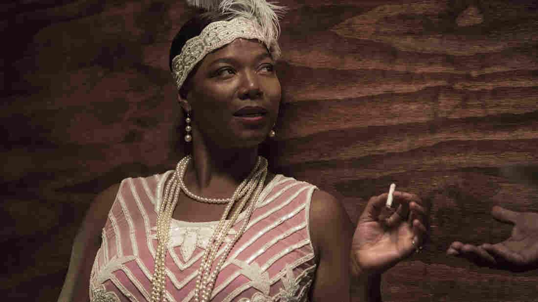 Queen Latifah plays blues singer Bessie Smith in the HBO movie Bessie.