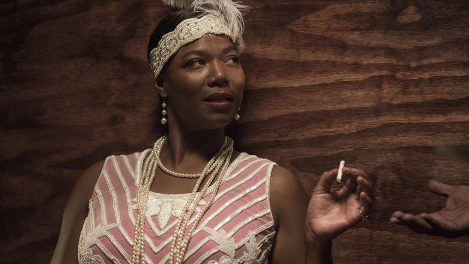 Queen Latifah plays blues singer Bessie Smith in the HBO movie <em>Bessie</em>.