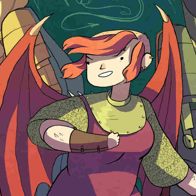 'Nimona' Shifts Shape And Takes Names — In Sensible Armor, Of Course