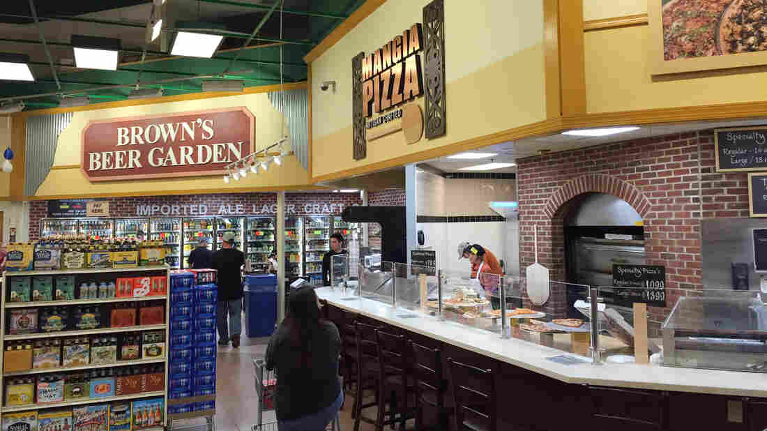 Inside a Brown's Super Store. Brown's operates seven profitable supermarkets in low-income neighborhoods in Philadelphia.