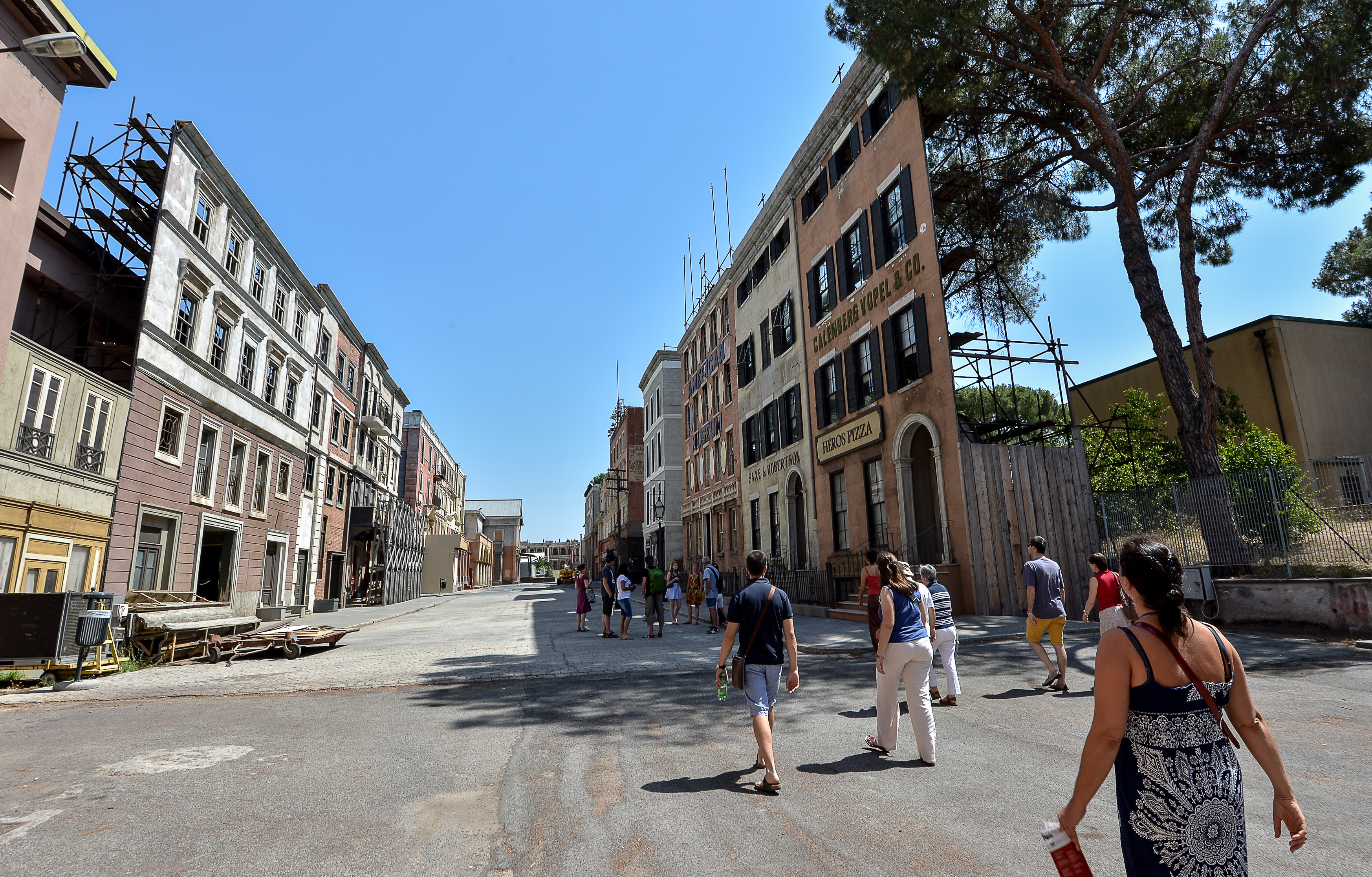 Rome's Cinematic 'Dream Factory' Ramps Up Production Once Again