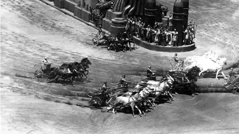 The famous chariot race in Ben-Hur was filmed on a movie set at Cinecittà in 1958.