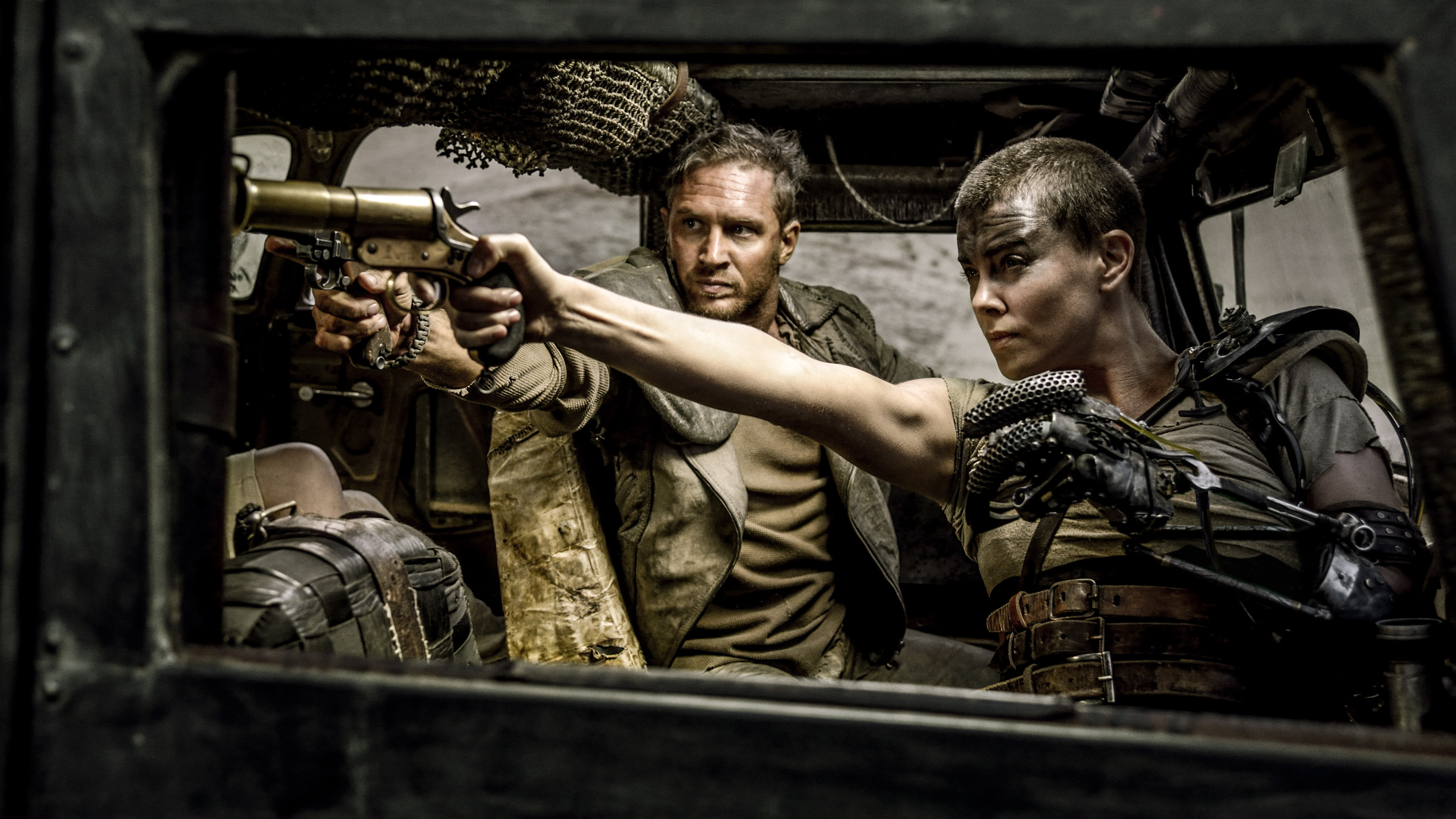 The Women Pull No Punches In Fiery, Feminist 'Mad Max' : NPR