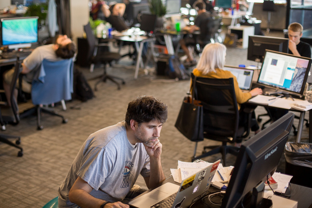The humans behind the machine: Inside the office at Automated Insights.