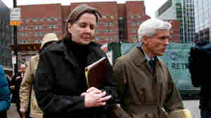 Judy Clarke and David Bruck, Dzhokhar Tsarnaev's defense attorneys, leave the Moakley federal courthouse on April 8 after their client was found guilty.