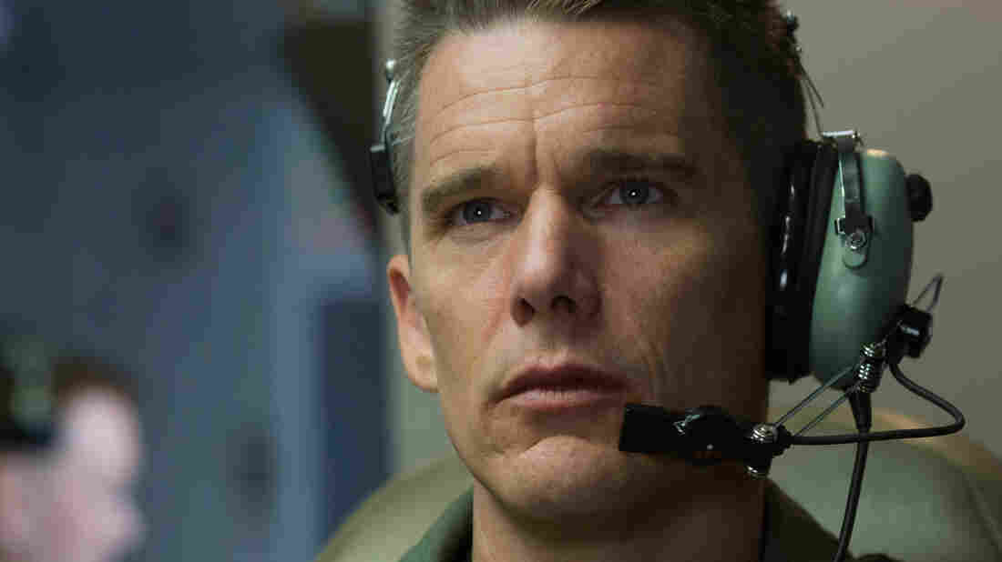Ethan Hawke plays an Air Force commander engaged in drone warfare in Andrew Niccol's Good Kill.