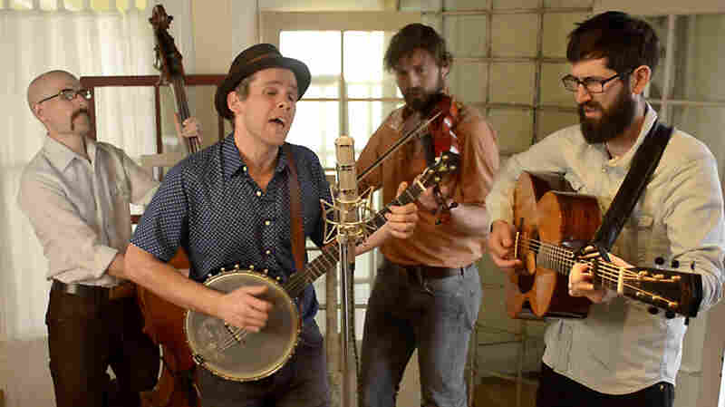 The Steel Wheels, performing live for Folk Alley.