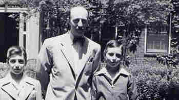 Ben Stonehill and his sons Lennox Lee Stonehill and Bob Stonehill, taken in New York, circa 1948.