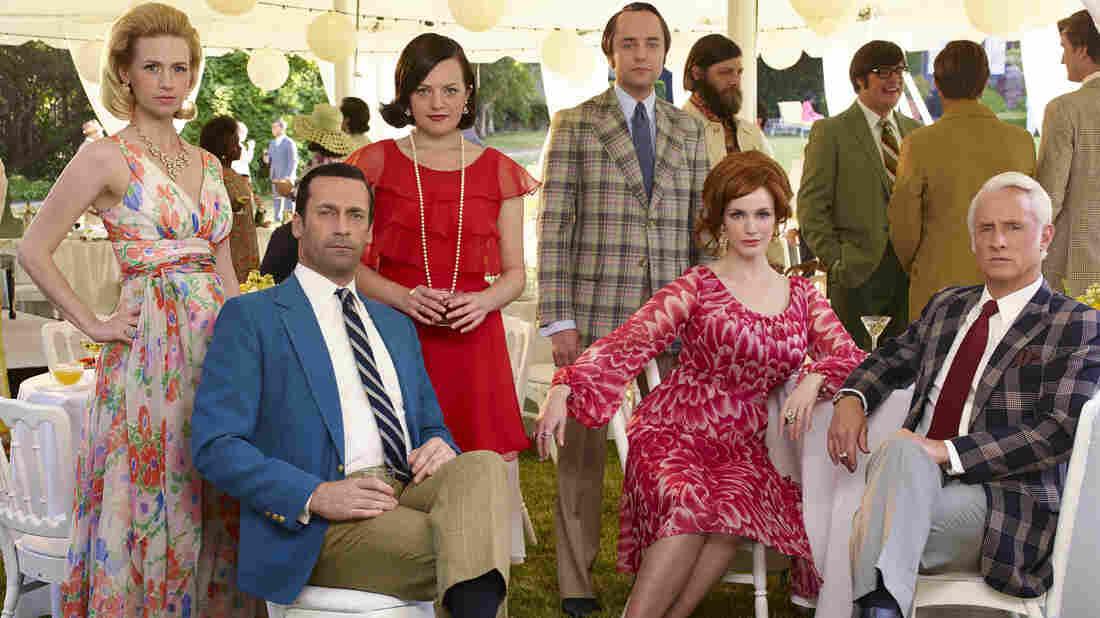 The cast of Mad Men: January Jones (from left), Jon Hamm, Elisabeth Moss, Vincent Kartheiser, Christina Hendricks and John Slattery