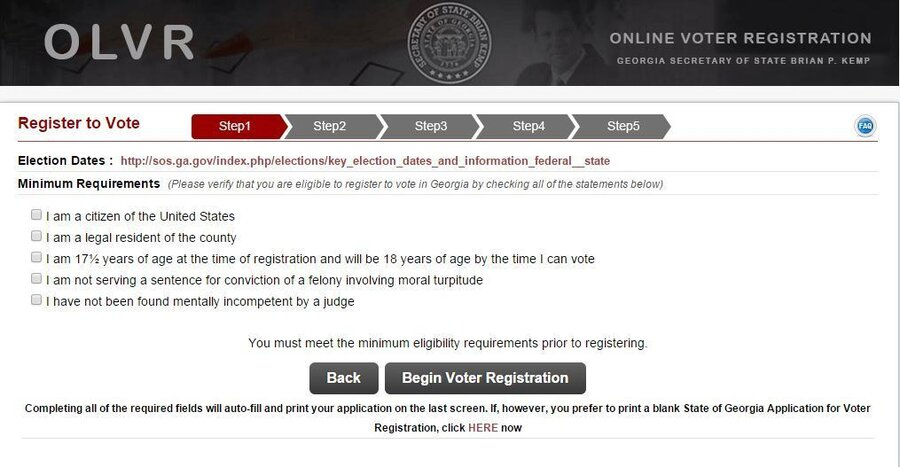 Cheap And Fast, Online Voter Registration Catches On : It's All ...
