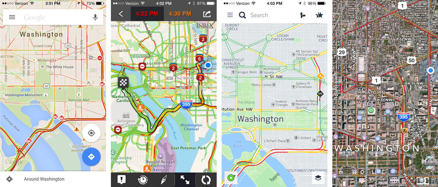 The Tech Behind Traffic Apps: How (Well) Do They Work? : All Tech ...