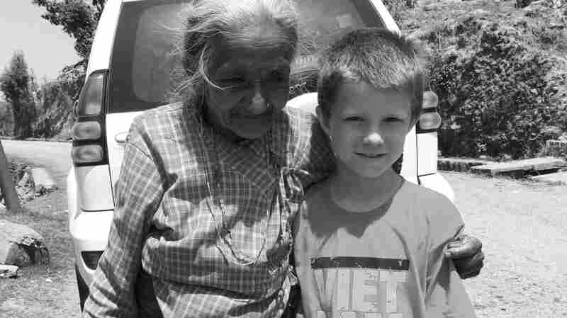 Lucas met this woman who lost her home and all her children except for one daughter.