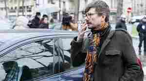 French cartoonist Luz, seen here in January, says he will leave the satirical magazine Charlie Hebdo this fall.