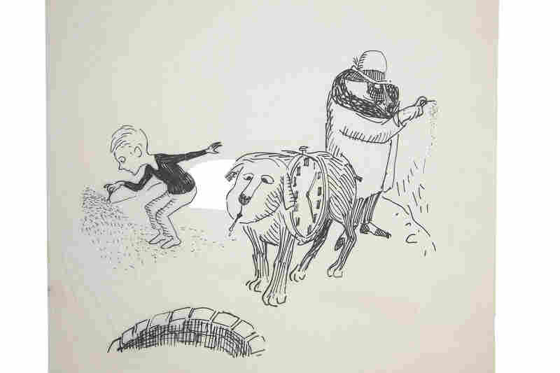 An original sketch from 1961's The Phantom Tollbooth