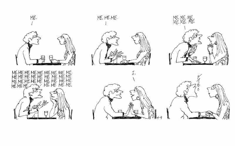 This couple's ill-fated date was drawn around 1967.