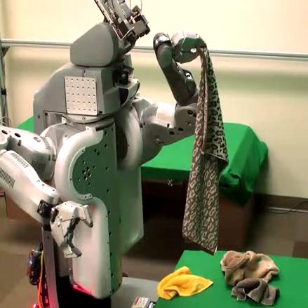 Robots Are Really Bad At Folding Towels