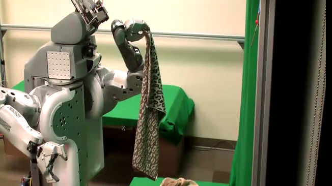 Can a robot really fold a towel?