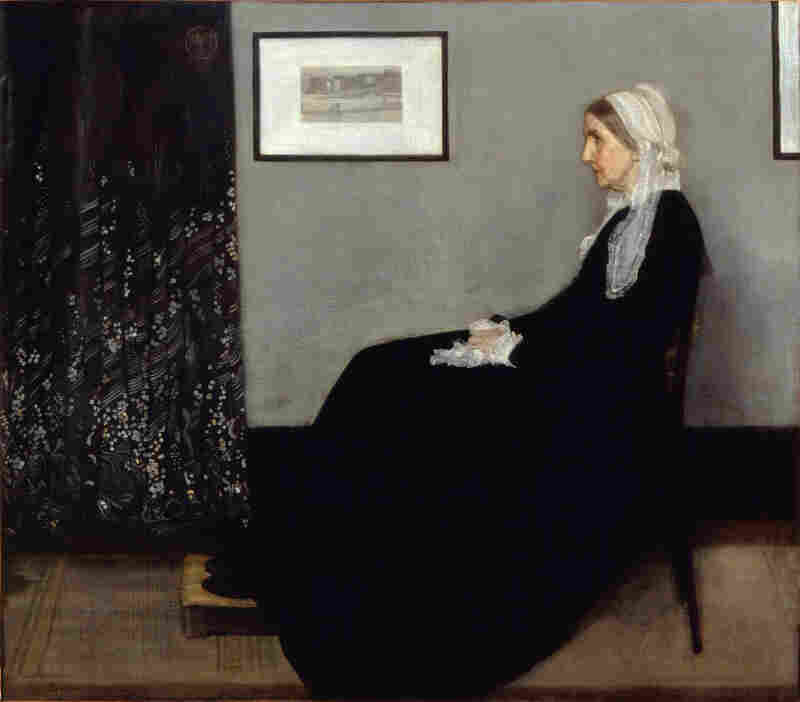 "James McNeill Whistler's mother — immortalized in his 1871 painting Arrangement in Grey and Black No. 1: Portrait of the Artist's Mother — worried about all the time and energy her son was pouring into the Peacock Room. ""A gentleman's house isn't an exhibition,"" she told him."