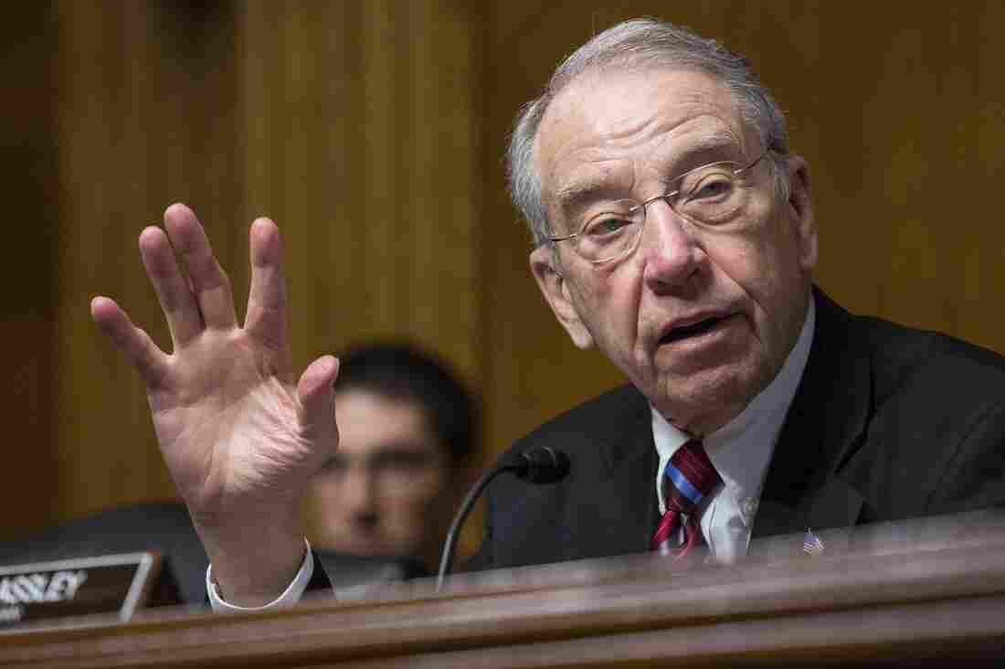 Sen. Chuck Grassley has questions about what the feds are doing to investigate allegations of Medicare Advantage fraud.