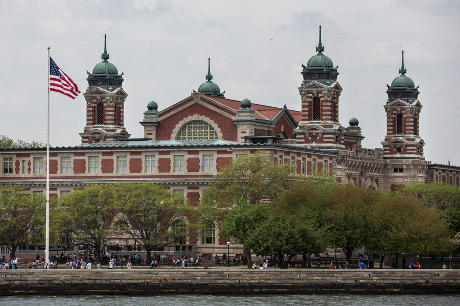 For New Immigrants To The Us Ellis Island Still Means A Lot