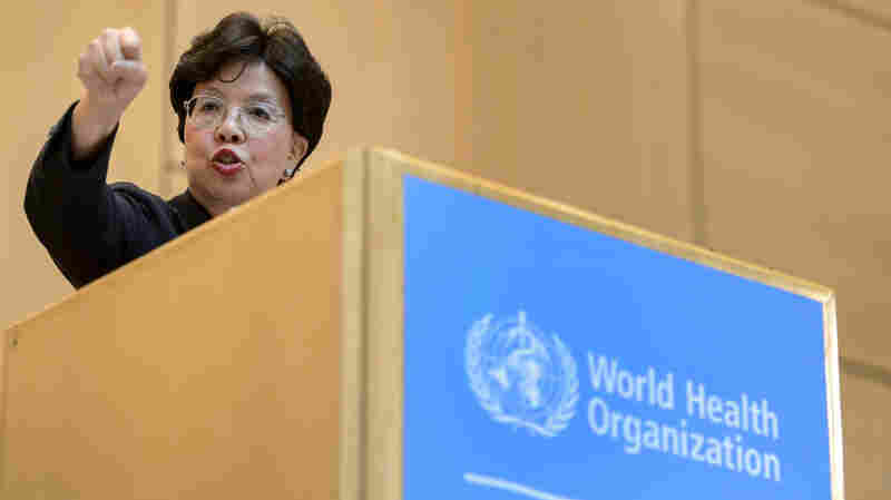 """The Ebola outbreak """"overwhelmed"""" the World Health Organization and made it clear the agency must change, WHO's director-general, Dr. Margaret Chan, said Monday in Geneva."""