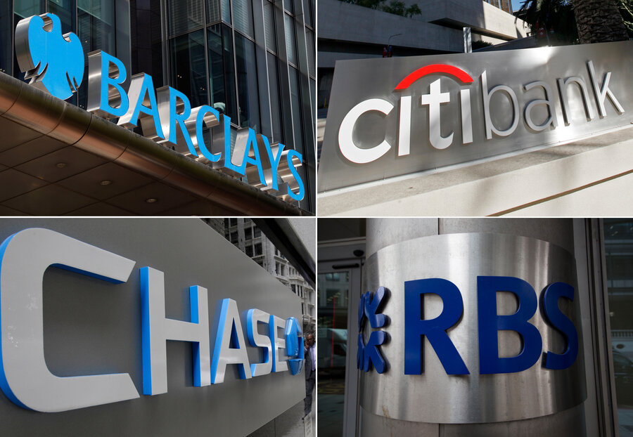 Big Banks Pay Billion Plead Guilty To Felonies Over Currency - Major banks in usa