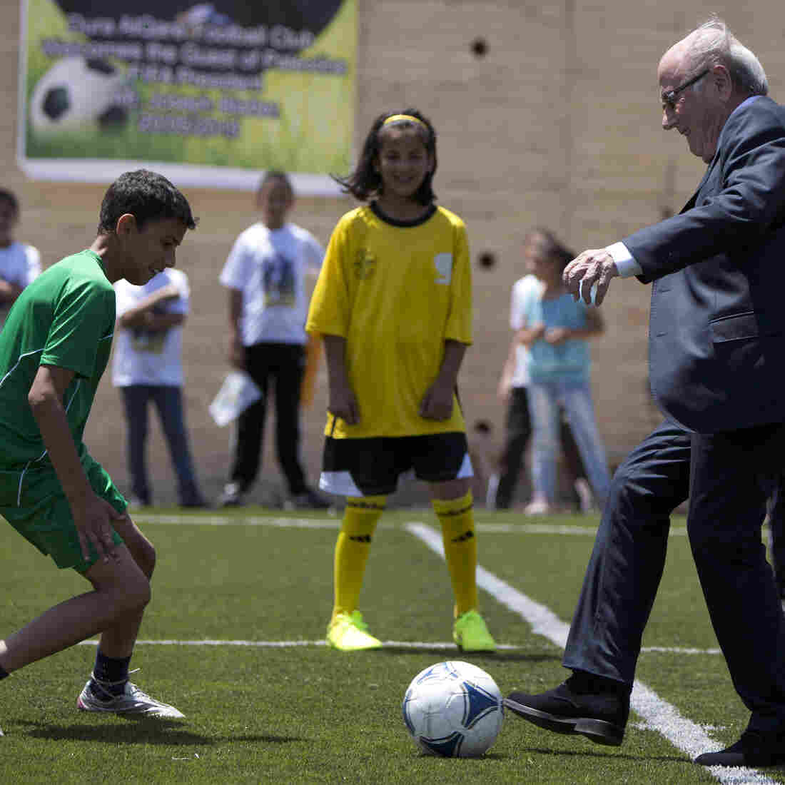 For Israel, Soccer Becomes A Geopolitical Football