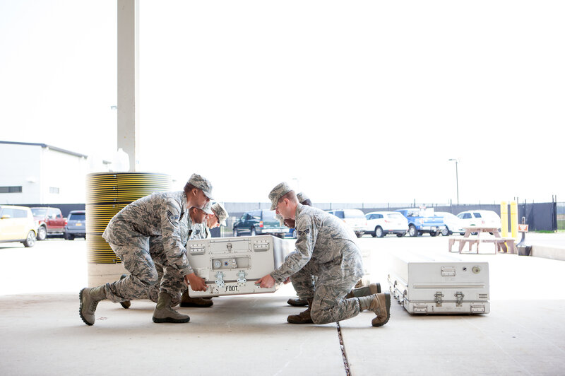At Dover Air Force Base, Bringing Home The Fallen With Grief