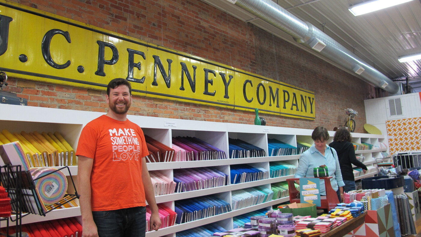 One Family Revitalizes A Small Town With Yes Quilts NPR