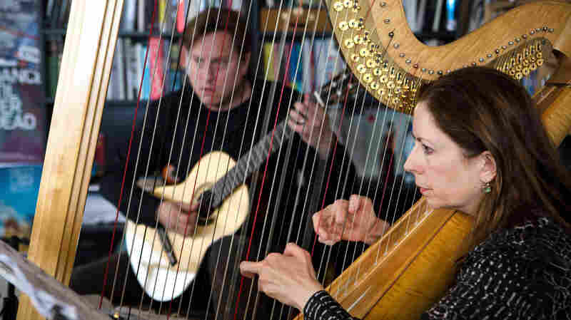 Tiny Desk Concert with Jason Vieaux And Yolanda Kondonassis April 10, 2015