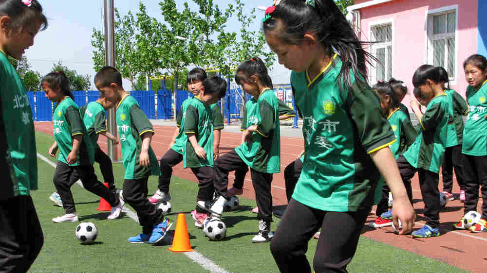 China Kicks Off 'Great Leap Forward' On The Soccer Field