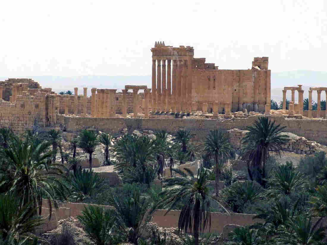 A photo released on Sunday by the Syrian official news agency SANA shows a general view of the ancient Roman city of Palmyra, northeast of Damascus, Syria. Fears have intensified that the self-declared Islamic State, which captured the city on Wednesday, might raze the ruins.
