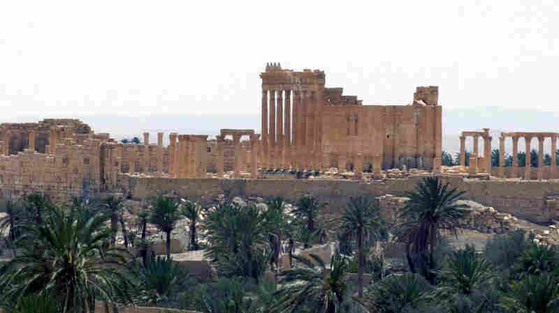 A photo released on Sunday by the Syrian official news agency SANA shows a general view of the ancient Roman city of Palmyra, northeast of Damascus, Syr