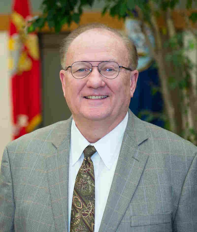 Chaplain David Sparks, Air Force Mortuary Affairs chaplain.