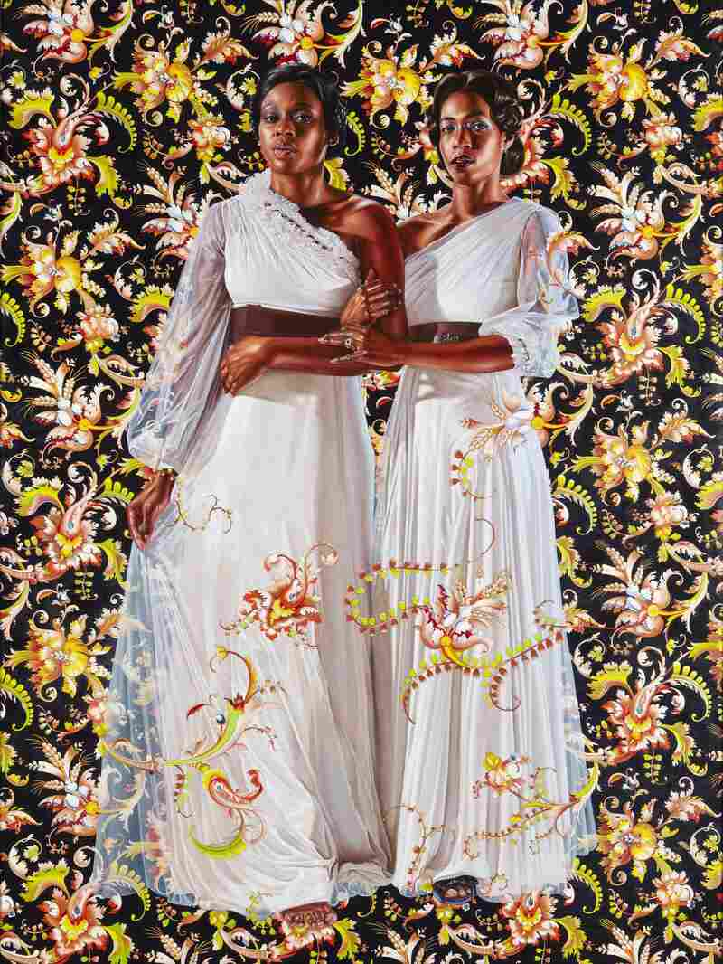 The Two Sisters, 2012. Wiley says he wants to see black and brown bodies depicted in the visual vocabulary he learned as a young art student.