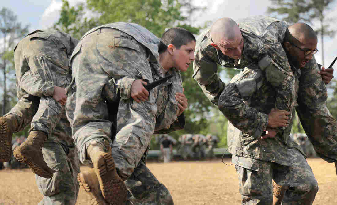 The buddy carry is one of the requirements of soldiers during the Ranger training program.