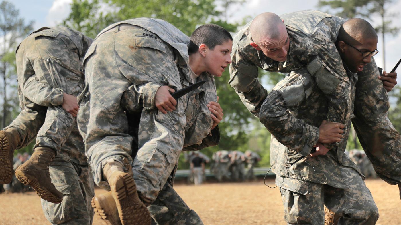 Women Fight Their Way Through Army's Grueling Ranger