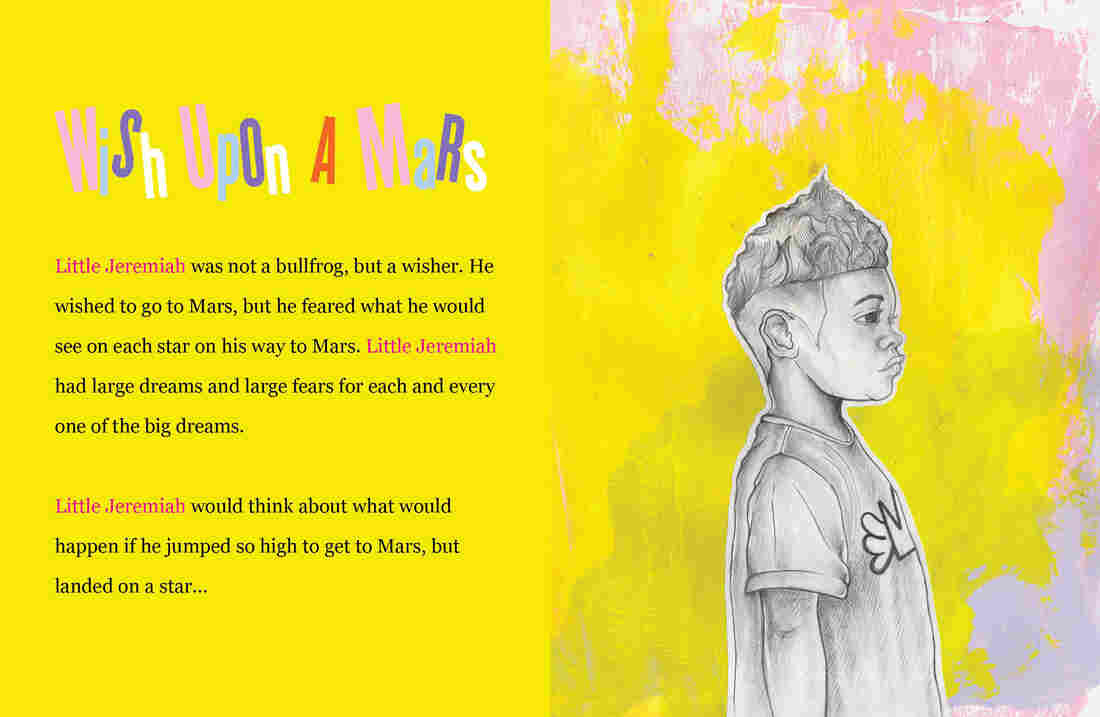 Jeremiah Nebula has big dreams: he wants to go to Mars.