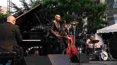 Joshua Redman and The Bad Plus play the Detroit Jazz Festival.