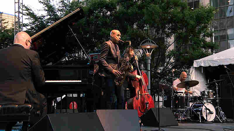 The Bad Plus Joshua Redman At Detroit Jazz Festival