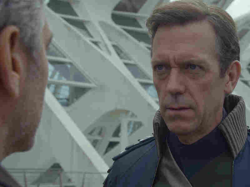 Hugh Laurie is British scientist David Nix in Tomorrowland.