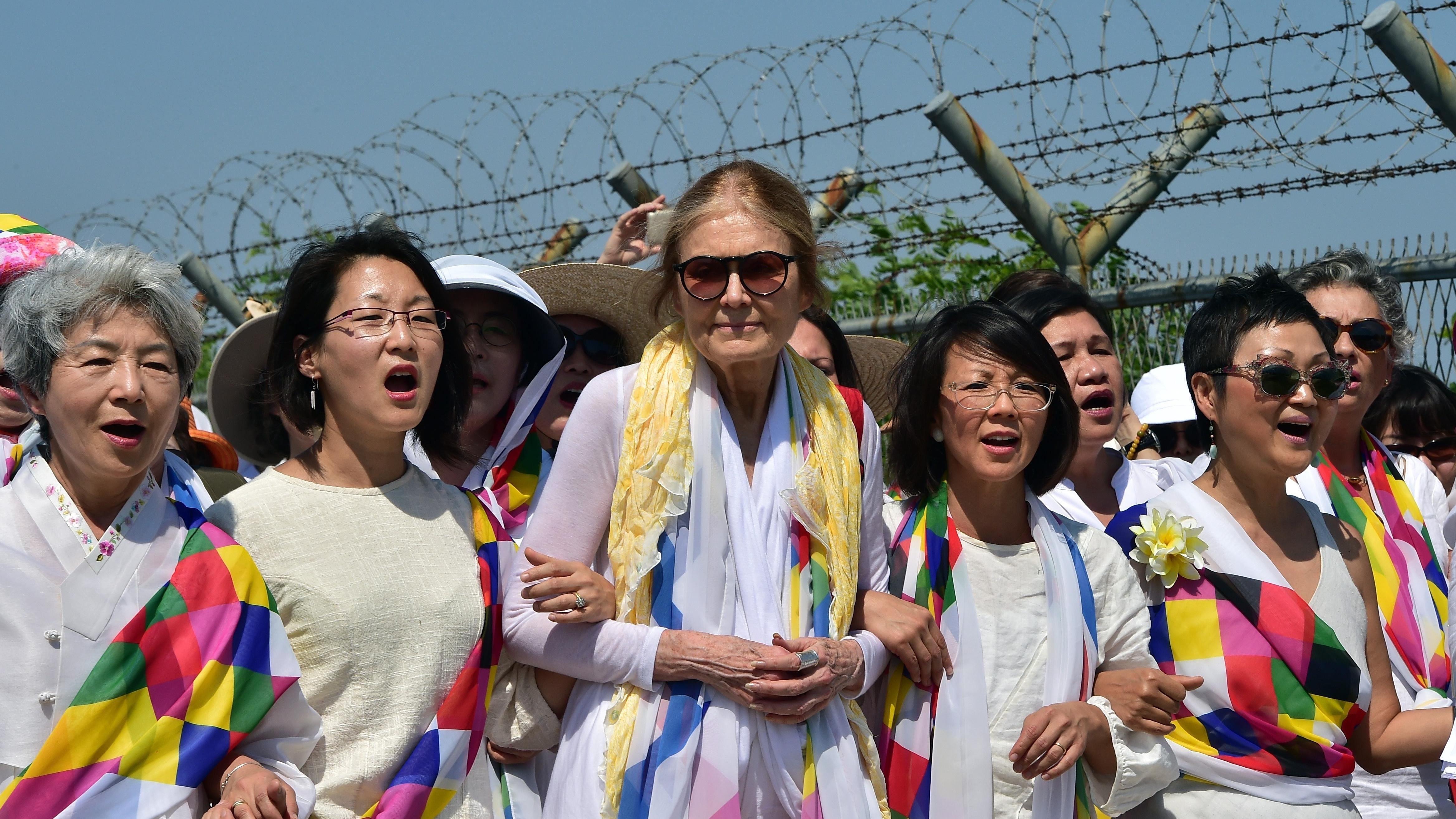 Controversy Follows As Activists Cross North-South Korean Border