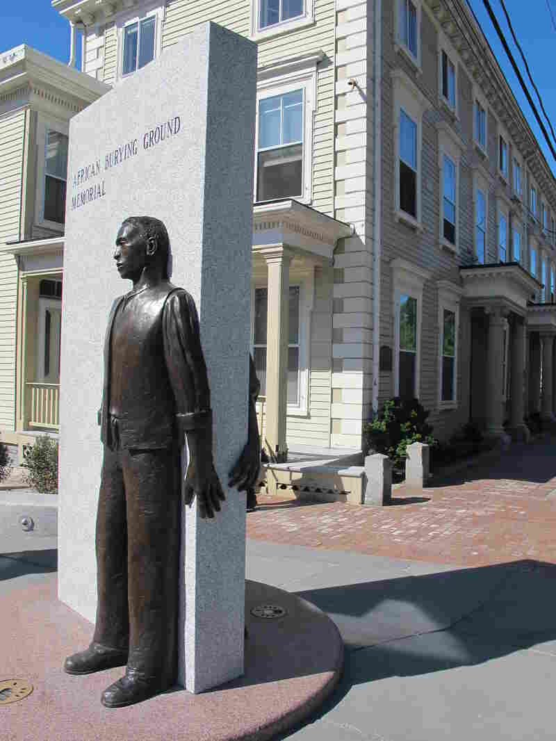 The new African Burying Ground Memorial Park was dedicated on Saturday in Portsmouth, N.H.