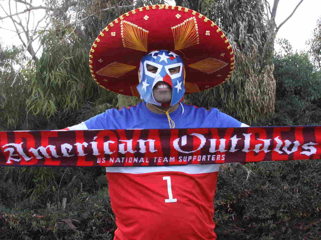Gabriel Ramirez, a 25-year-old full-time college student, cheers on the U.S. national soccer teams in his spare time. His family is from Mexico City and still roots for El Tri, the Mexican national team.