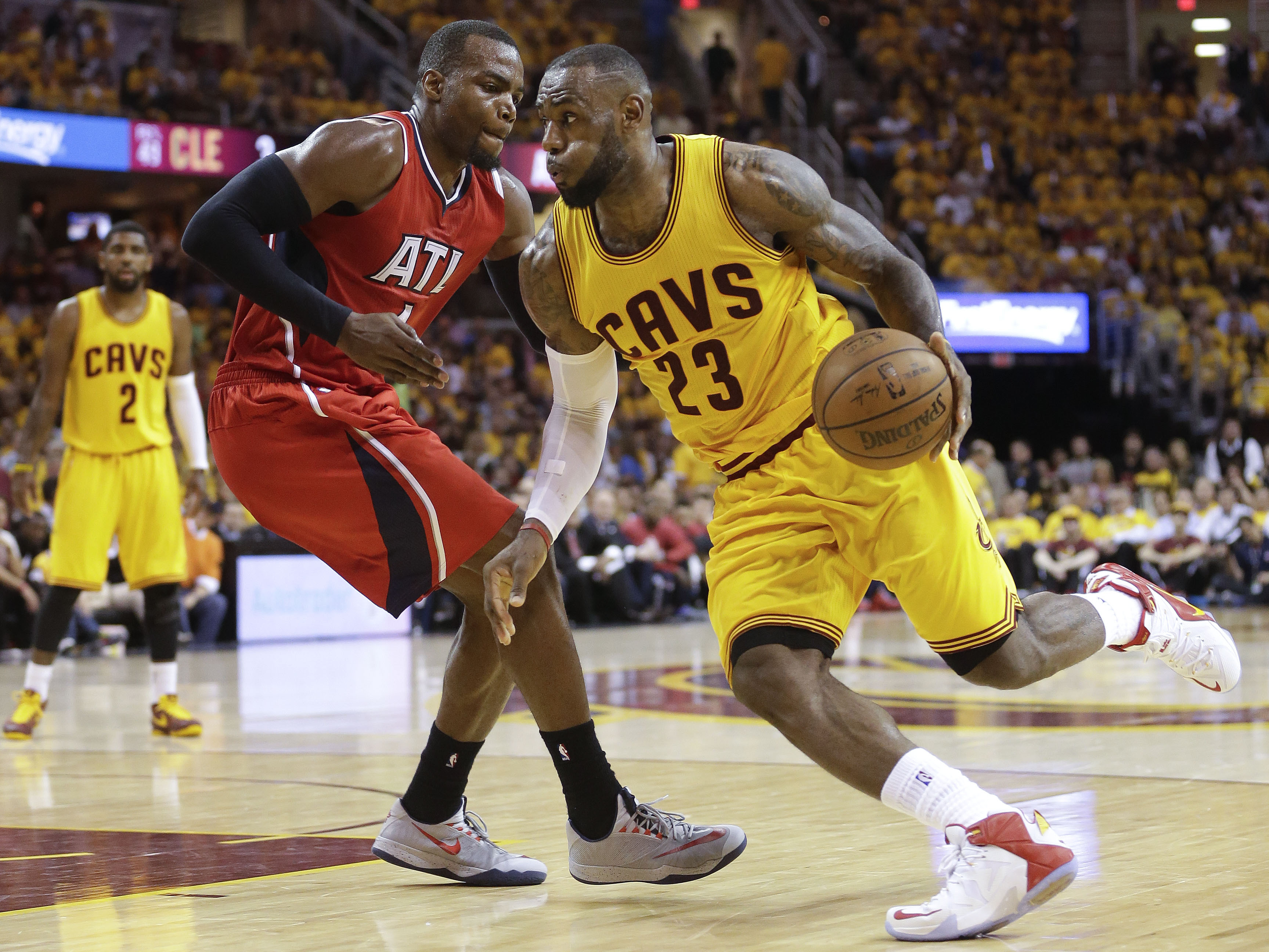 LeBron Books 5th Straight NBA Finals Trip As Cleveland Sweeps Atlanta | NCPR News