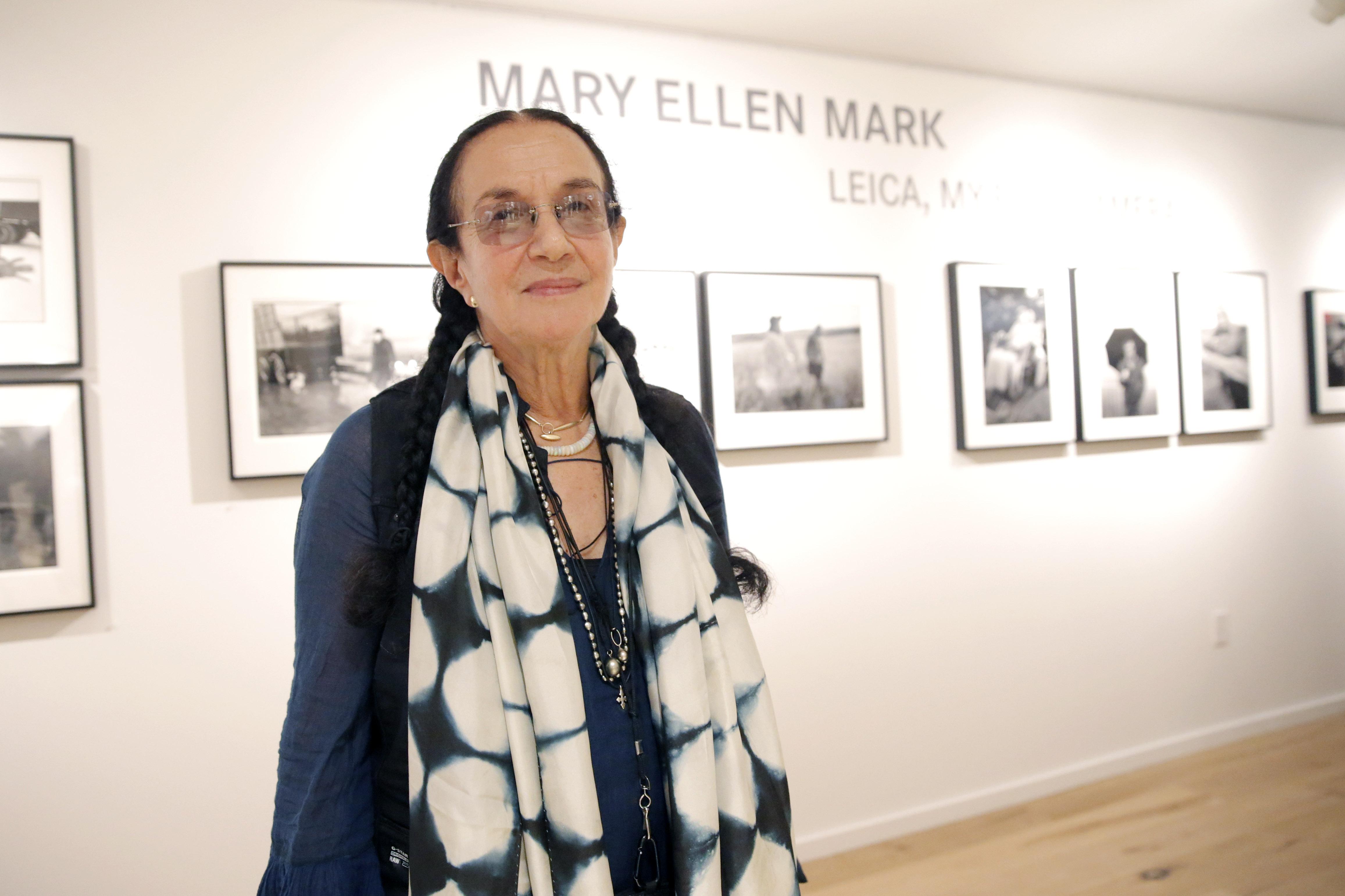 Photographer Mary Ellen Mark Dies At 75