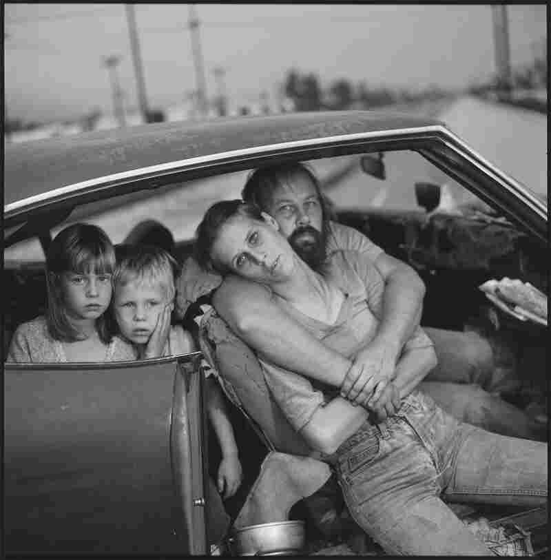 The Damm Family in Their Car, Los Angeles, 1987