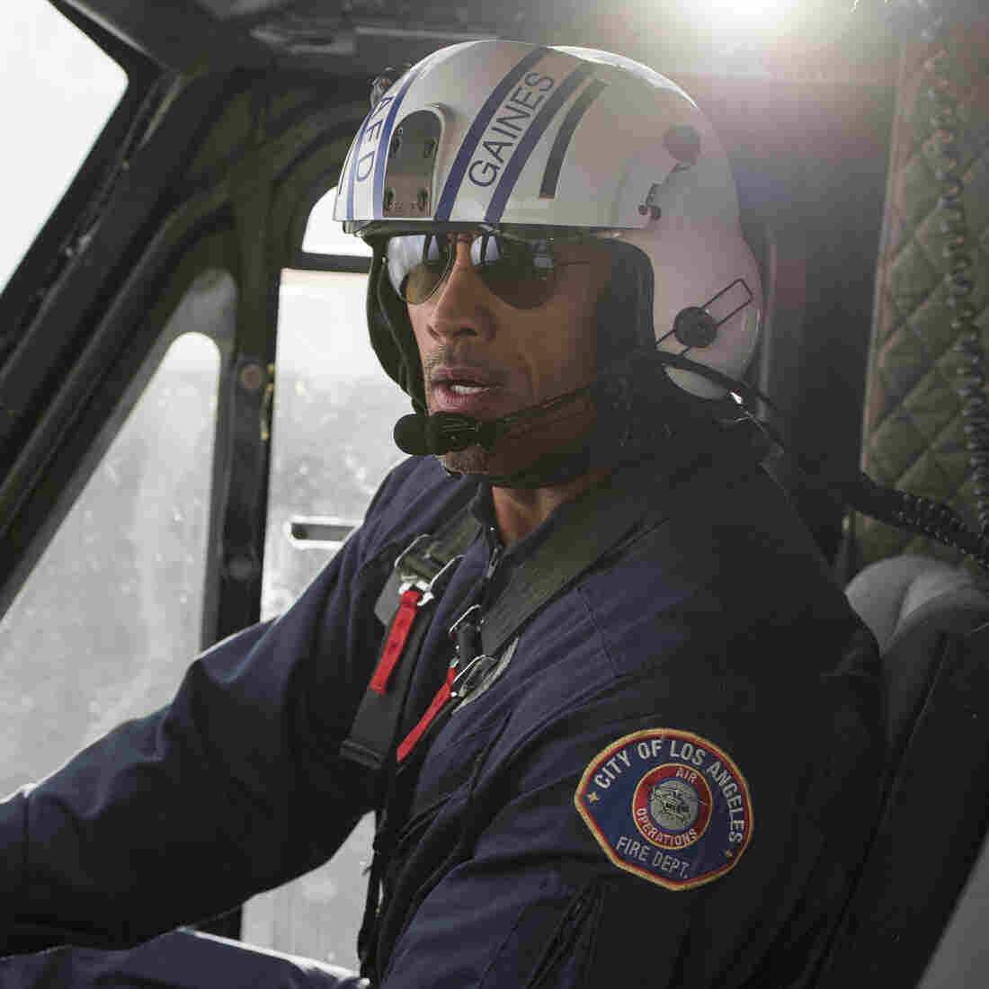 Rocks Versus The Rock In 'San Andreas'